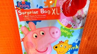 Peppa Pig Big Mystery Blind Bag XL Toys & Candy Unpacking ペッパピッグ