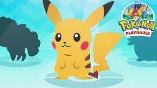 Pokémon Playhouse - Pokémon Pet Doctor Care, Feed, Bath Time - Play Pokemon All Activities Kids Game