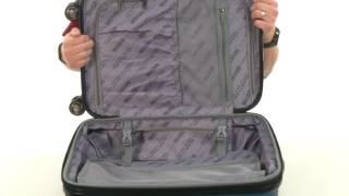 """Kenneth Cole Reaction Renegade Against The Law 20"""" Carry-On Luggage  SKU:8489831"""