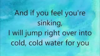 Major Lazer - Cold Water (feat. Justin Bieber & MØ) Lyrics