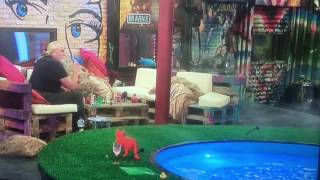 Celebrity Big Brother Kim Explodes