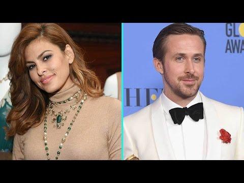 Eva Mendes Coyly Responds to Ryan Gosling s Sweet Golden Globe Award Dedication