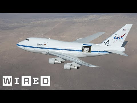 Climb Aboard a Boeing 747 That NASA Turned Into the World s Biggest Flying Telescope WIRED