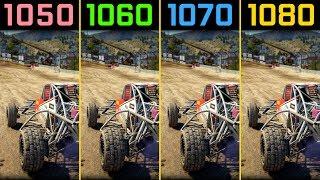 Dirt 4 GTX 1050 Ti vs. GTX 1060 vs. GTX 1070 vs. GTX 1080 [1080p]