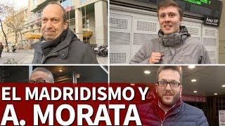 La afición del Real Madrid opina sobre la llegada de Álvaro Morata al Atlético   Diario As