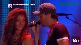 Enrique Iglesias & Nicole scherzinger Hot Heartbeat Live 2014  HD