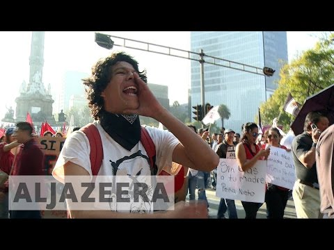 Mounting protests in Mexico over fuel