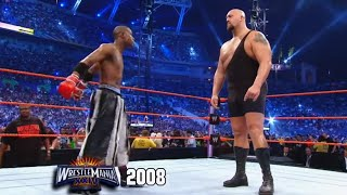 Raw: Floyd Mayweather knocks out Big Show at WrestleMania
