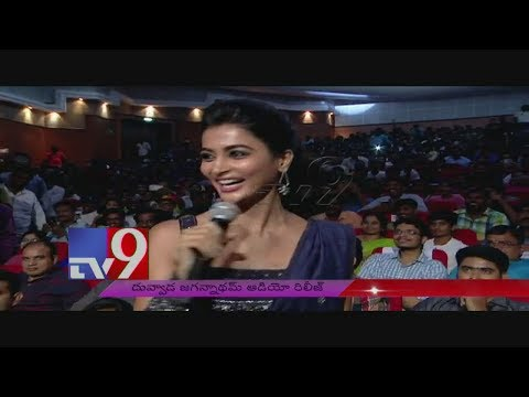 Xxx Mp4 Pooja Hegde Launches Box Baddalaipoye Song DJ Audio Launch TV9 3gp Sex