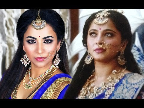 BAHUBALI 2 - DEVASENA (ANUSHKA SHETTY) MAKEUP AND HAIR TUTORIAL