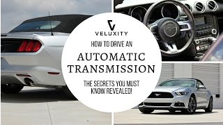 How To Drive an Automatic Car Step by Step, Tips, Tricks & POV | Veluxity