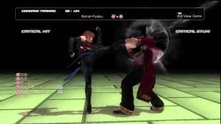 Dead or Alive 5 - Kasumi Command Training - Exercise Newbie - Trophy/Achievement - Part 13