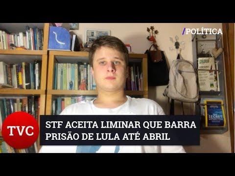 STF IMPEDE PRISÃO DE LULA ATÉ JULGAMENTO FINAL DO HC
