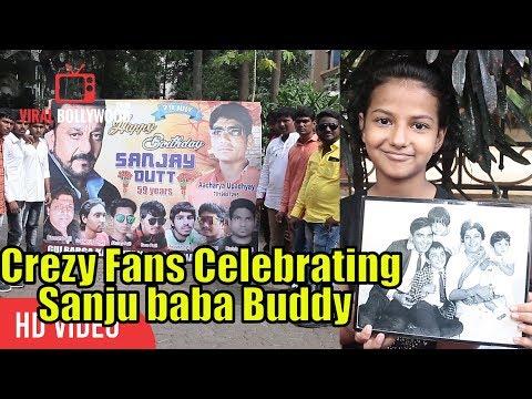 Xxx Mp4 Craziest Fans Of Sanjay Dutt Celebrating Sanjay Dutt Birthday 50 TOLA Reaction 3gp Sex