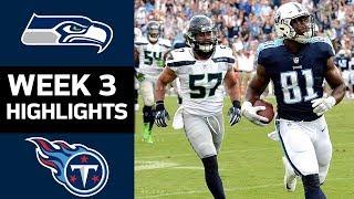 Seahawks vs. Titans   NFL Week 3 Game Highlights