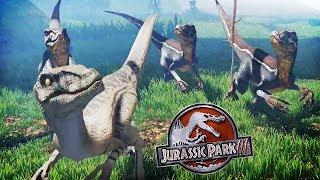 HUNTED BY THE RAPTOR PACK | Raptors (Free Dinosaur Game)