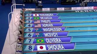 Men39s 100m freestyle FINAL Pan Pacific Swimming Championships 2014