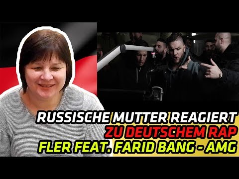 RUSSIAN MOM REACTS TO GERMAN RAP | FLER feat. FARID BANG ✖️AMG✖️► [ official Video ] | REACTION