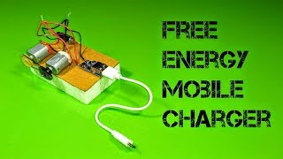 Free Energy Mobile Charger - Using Piezo Igniter