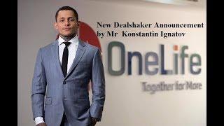 New Dealshaker Announcement by Mr  Konstantin Ignatov