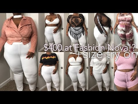 Xxx Mp4 400 At Fashion Nova Bihhhh Was It Worth It Try On Haul Plus Size 3gp Sex