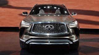 انفينيتي كيو اكس50 - معرض ديترويت للسيارات 2017