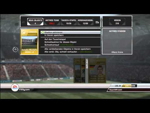 Let's Play FIFA 12 Ultimate Team #6 [Deutsch] [HD] - Gold Premium Jumbo Set Pack Opening