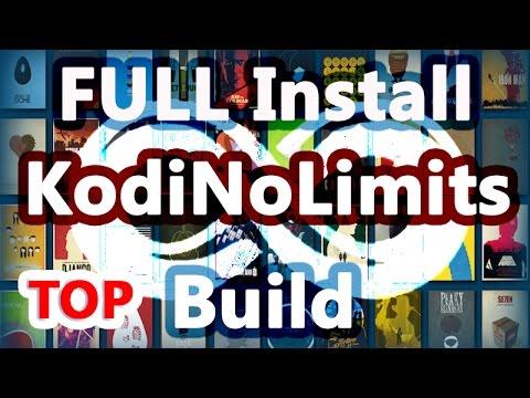 Install Kodi No Limits Build on Kodi 17 Krypton + LiveTV + XXX + UK Turk