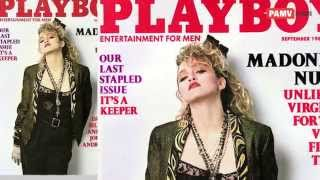 madonna naked photos published in playboy magazine before she reached her fame