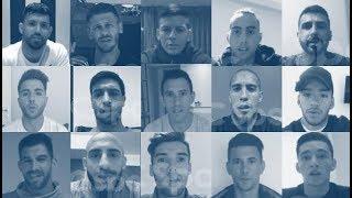 El especial saludo para los jugadores de la Selección Argentina