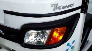 TVS King Fully Electric Auto Rickshaw at 12th Auto Expo 2014 The Motor Show Greater Noida