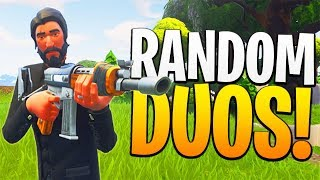 Most Loyal RANDOM DUOS Partner of ALL TIME! - PS4 Fortnite RANDOM DUOS Game!