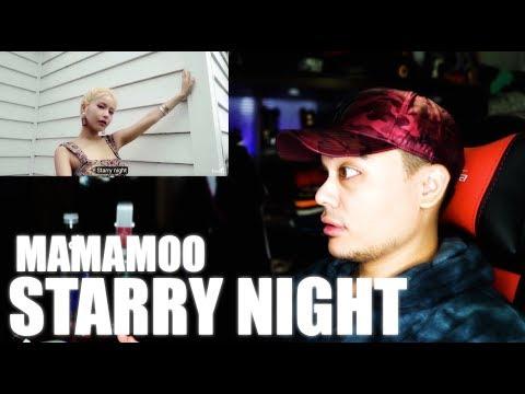 MAMAMOO - Starry Night MV Reaction