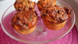 Unsuz  kek :) Pirasali tuzlu muffin / Azide Hobi