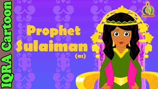 Solaiman (AS) | Prophet story( No Music)| Islamic Cartoon | Islamic Kids Videos | Story for Children
