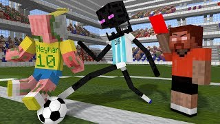 Monster School: World Cup 2018 - Minecraft Animation