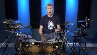 Beginner 16th Note Linear Drum Fills - Drum Lesson (DRUMEO)