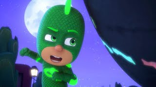 PJ Masks Full Episodes - GEKKO AND THE ROCK OF ALL POWER - 1 Hour - Cartoons for Children