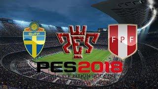 Sweden vs Peru International Friendly match HD Pes 2018