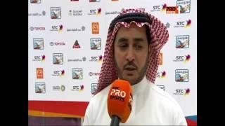 حديث مشرف الفريق عبدالله السبيعي عقب مباراة الرائد والأهلي الجولة 12