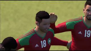 Morocco vs Iran | Goals and Highlights | FIFA World Cup 2018 PES Gameplay |  15/06/2018