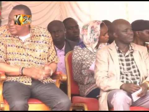 President Uhuru launches a Sh1.2B irrigation scheme in West Pokot