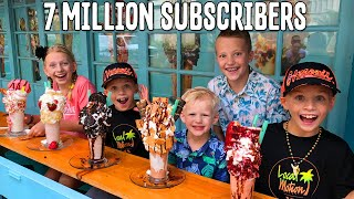 Look at Those Shakes!!! They're HUGE! 7 Million Subscriber Party