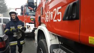 Pożar w Michelinie. Zdjęcia i film