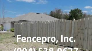 Fencepro Inc Fences Jacksonville