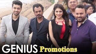 Genius Movie Promotions   Utkarsh Sharma, Nawazuddin Siddiqui, Ishita Chauhan, Anil Sharma
