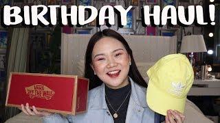 BIRTHDAY HAUL!! (2018) | ASHLEY SANDRINE