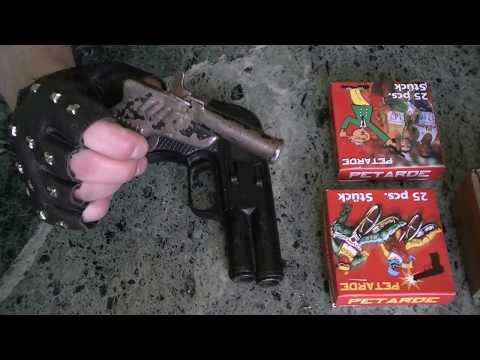 Pistolet korkowiec na Sylwestra  część