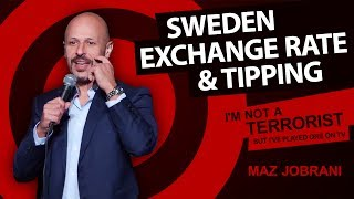 Maz Jobrani - Exchange Rate & Tipping Rules #tipping #Indian #Dubai #Sweden #OneOpportunity
