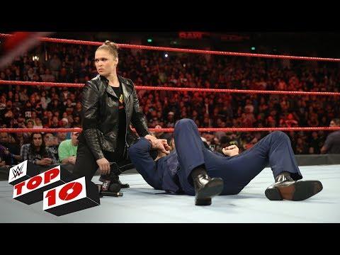 Xxx Mp4 Top 10 Raw Moments WWE Top 10 February 26 2018 3gp Sex